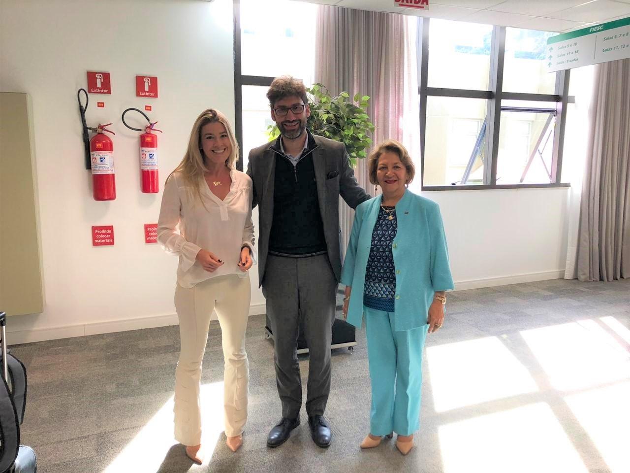 Sheine L. Braga, Fabrizio Panzini e Maria Teresa Bustamante