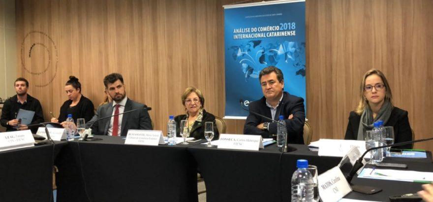 FIESC: comércio internacional de SC deve crescer em 2019