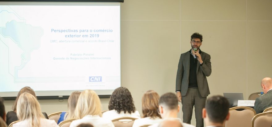 Seminário na FIESC debate o futuro dos acordos comerciais e perspectivas para o comex em 2019
