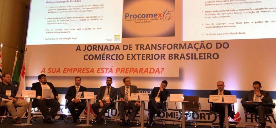 Evento da Procomex destaca modernização dos processos de importação e exportação