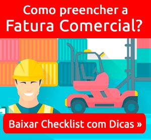 Checklist da Fatura Comercial