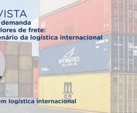 Alta demanda no transporte marítimo internacional exige mais planejamento dos importadores